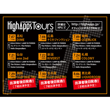 HighApps TOURS 2015