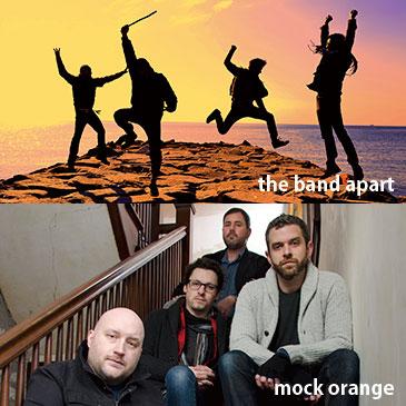 the band apart / mock orange<br /> 「Smooth Like Daniels Tour」