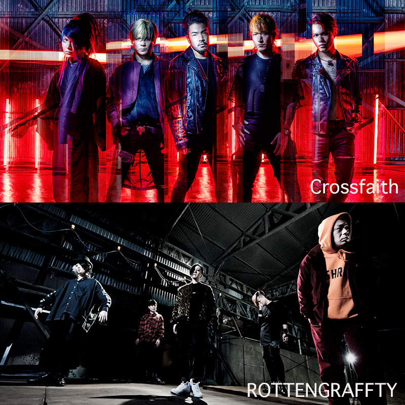 Crossfaith WORLD TOUR 2018 : JAPAN<br /> GUEST:ROTTENGRAFFTY<font color=