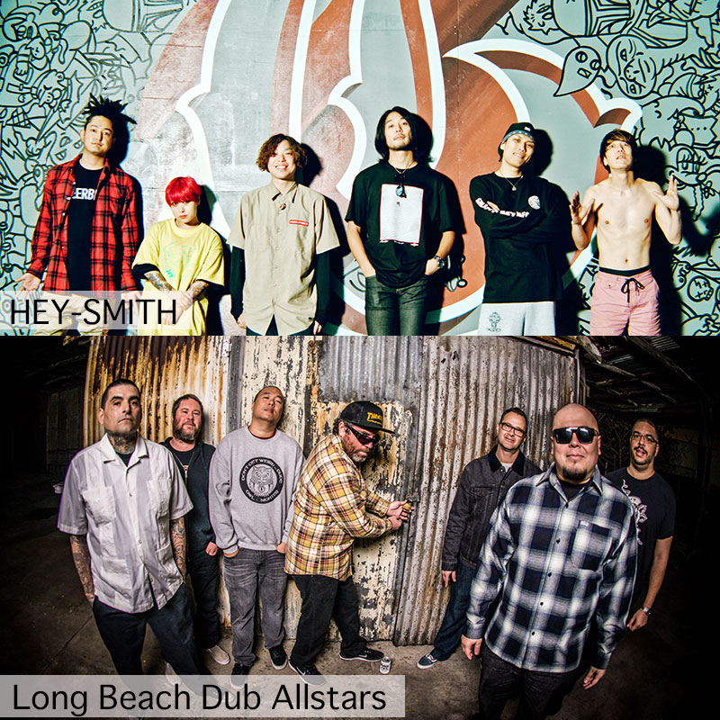 "HEY-SMITH presents<br /> ""HEY-SMITH x Long Beach Dub Allstars Special 2man Show."" <br /> supported by UNIONWAY"