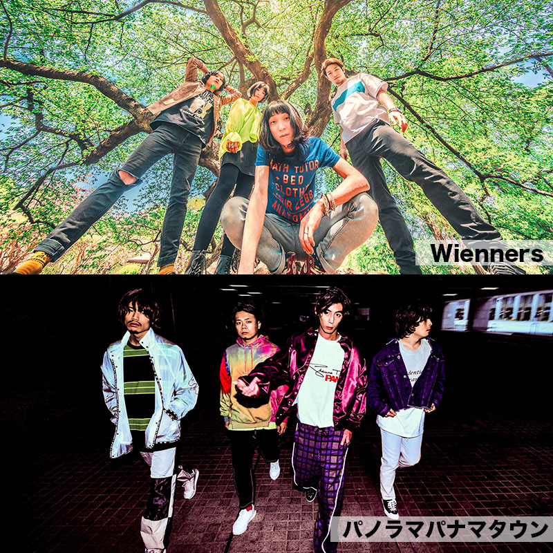 Wienners presents BATTLE AND UNITY TOUR 2019<br /> 対バン:パノラマパナマタウン